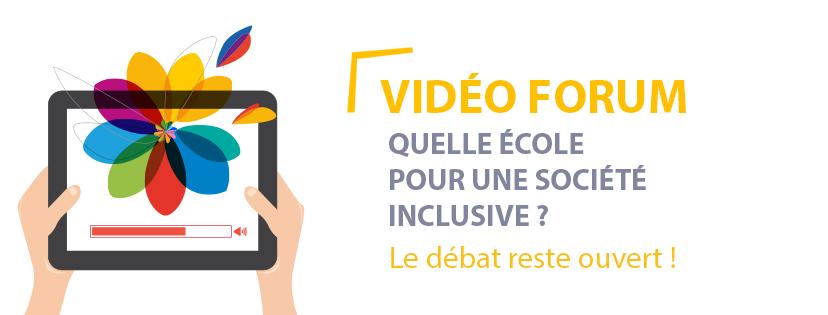 Banière Vidéo Forum