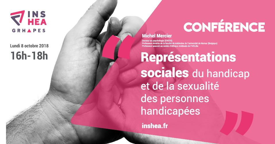 Affiche de la conférence de Michel Mercier