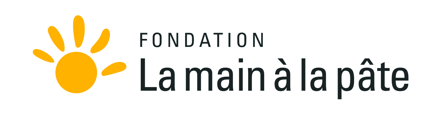 "Logo de l'association ""la main à la pâte"""