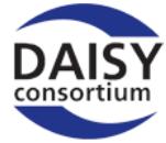 image DAISY – Un format de lecture audio