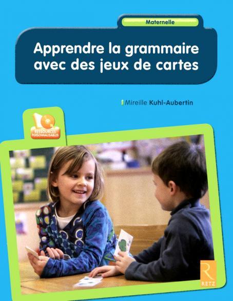 image Apprendre la grammaire avec des jeux de cartes