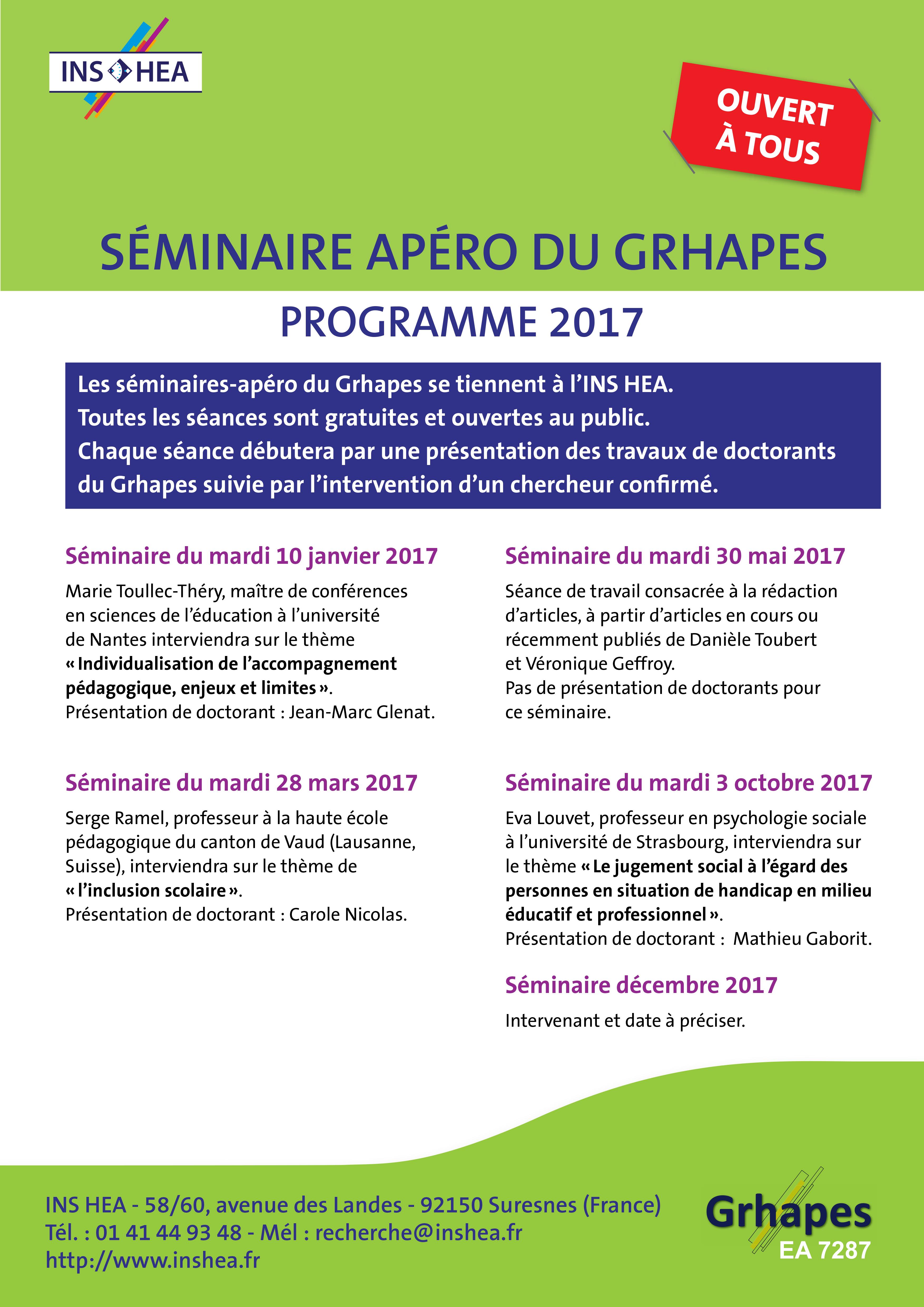 Image séminaires Grhapes 2017