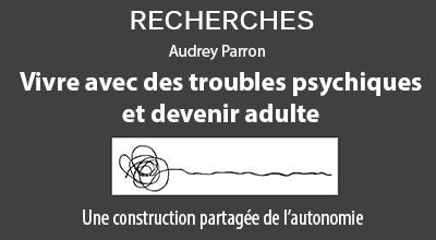 """Image de la couverture de l'ouvrage """"Vivre avec des troubles psychiques et devenir adulte"""""""