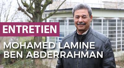 portait de Mohamed lamine Ben Abderrahman