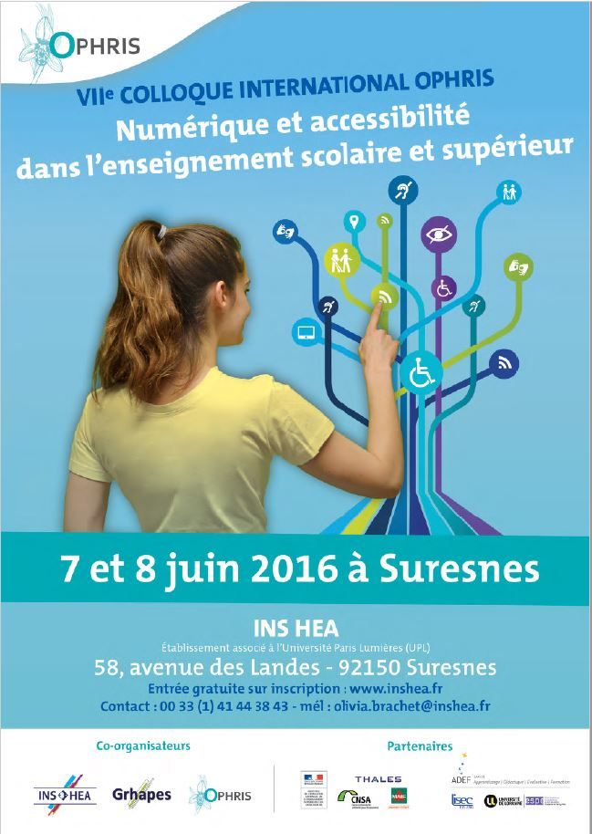 affiche OPHRIS