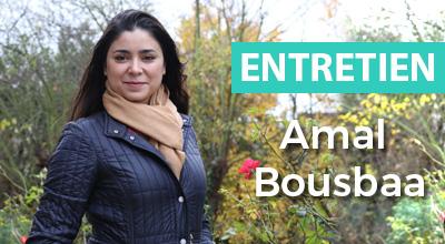image entretien avec Amal Bousbaa