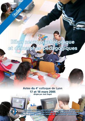 """Couverture de l'ouvrage """"Bilan neuropsychologique et démarches pédagogiques 2005"""""""