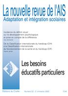 Couverture de La nouvelle revue de l'AIS, n°22