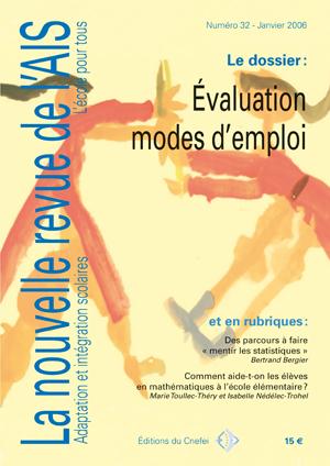 Couverture de La nouvelle revue de l'adaptation et de la scolarisation, n°32
