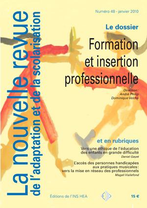 Couverture de La nouvelle revue de l'adaptation et de la scolarisation, n°48