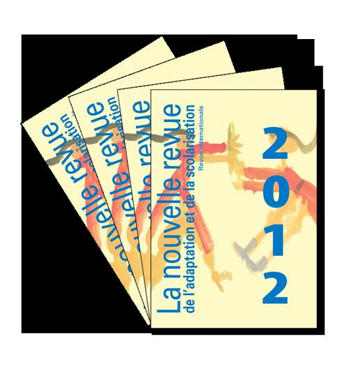 Couvertures des revues pour l'abonnement 2012