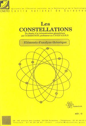 """Couverture de l'ouvrage """"Constellations n° 2. Éléments d'analyse théorique"""", illustrée d'une forme géométrique"""