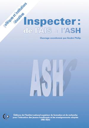"""Couverture de l'ouvrage """"Inspecter : de l'AIS à l'ASH"""""""