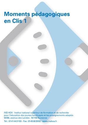 """Jaquette du film """"Moments pédagogiques en Clis"""", sans visuel."""
