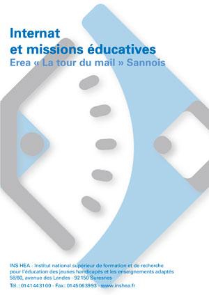 """Jaquette du film """"Internat et missions éducatives, Erea """"La Tour du Mail"""", Sannois"""" sans visuel"""