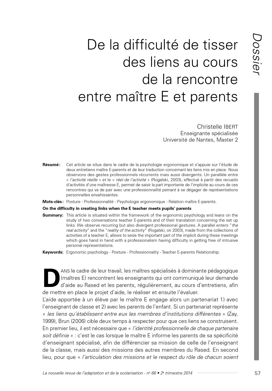 Page de l'article de C. Ibert