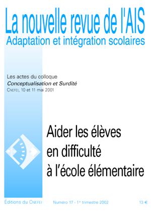 Couverture de La nouvelle revue de l'AIS, n°17
