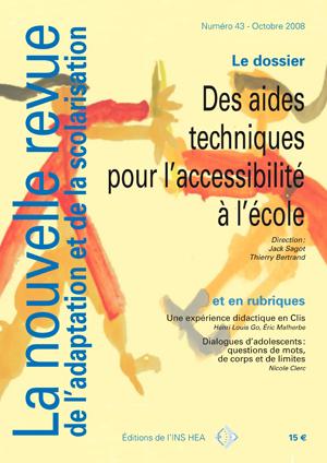 Couverture de La nouvelle revue de l'adaptation et de la scolarisation, n°43